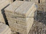 Granito giallo poco costoso cinese del granito G682 per il lastricatore del paracarro