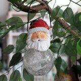Ornamento de navidad decoración colgante Pequeño muñeco de nieve del copo de nieve