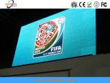 Tablilla de anuncios a todo color programable al aire libre de LED P10
