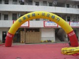 PVC 사랑스러운 팽창식 아치를 광고하는 휴일 훈장