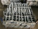 Base registrabile del Jack di vite dell'impalcatura per la costruzione dell'armatura