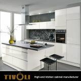 新しく白い現代食器棚の習慣Tivo-K0002h