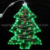 Напольное украшение рождества листьев кленов света украшения потека