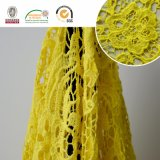 Empfindliche Spitze-Gewebe-Kleid-Zubehör neuestes Material2017 E10027 der Stickerei-100%Cotton