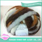 Filé de fantaisie de gants de coton respirable de haute résistance de laines
