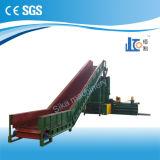 Por completo prensa de planchar de embalaje de la paja horizontal automática Hba40-7272