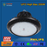 alta luz de la bahía de 110-130lm/W SMD2835 200W LED