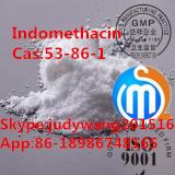 Фармацевтический индометацин CAS сырья: 53-86-1 с высокой очищенностью 99%