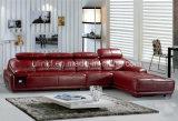 يخصم سعر جديدة تصميم يعيش غرفة يشبع جلد أريكة ([هإكس-ف618])
