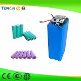 Flashlight/LEDの軽いトーチのための高い発電および品質3.7Vの再充電可能なリチウムイオン電池18650