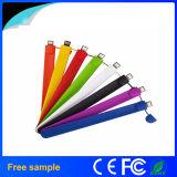 Memoria Flash impermeabile di gomma poco costosa all'ingrosso della fascia di manopola di 2GB 4GB