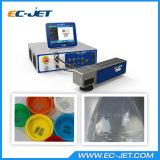 Não impressora de laser de alta velocidade da fibra da máquina da fixação de datas do contato (EC-laser)