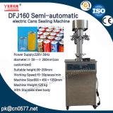 Latte elettriche semiautomatiche Dfj160 che sigillano macchina