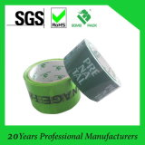 La insignia de encargo de OPP imprimió la cinta adhesiva del embalaje
