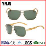 High End Ynjn lunettes de soleil personnalisées en aluminium pour hommes (YJ-FA3356)