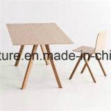 Cadeira de jantar de madeira moderna do restaurante da mobília