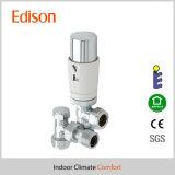 клапан радиатора пакета близнеца угла 15mm термостатический с аттестацией En215