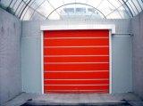 Porta rápida do obturador do rolo da porta de alta velocidade rápida comercial da velocidade da porta do rolamento (Hz-FC009)