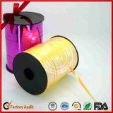 Corda Curly da fita da cor do ouro do Glitter para o empacotamento da cesta de fruta