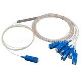 PLC van de Vezel van de Buis van het Staal van Singmold 1X8 Sc/Upc Optische Splitser