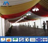 ABS壁が付いている大きい屋外アルミニウムPVC党玄関ひさしの結婚式のテント