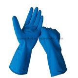 12 длинних резиновый дюйма перчаток руки латекса чистки домочадца