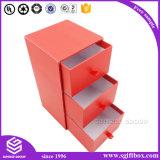 Rectángulo de empaquetado de encargo colorido del cajón del papel de imprenta