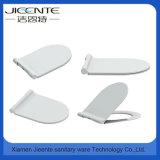 China-Hersteller-europäische Art-dünner Toiletten-Sitzdeckel