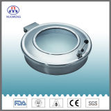 Couvercle d'oeil sanitaire en acier inoxydable pour cercle (RTH)