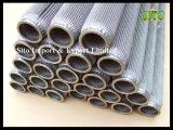 Сплетенный нержавеющей сталью стрейнер ячеистой сети плиссированный