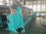 Máquina de confeção de malhas dobro da urdidura da base de agulha (lado)