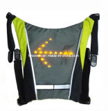 Sac de recyclage léger sûr r3fléchissant élevé de sac à dos de trekking