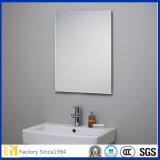 Buen plano del espejo de aluminio del claro del flotador de la buena calidad / vidrio de espejo del aluminio / espejo del baño Precio de fábrica