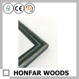 Cornice di legno del nero moderno di rettangolo per la decorazione domestica