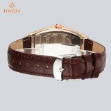 Quadratische Uhr, Förderung-Sport-Edelstahl-Form-Dame Mens Quartz Armbanduhr 70032