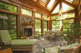 Дом самого лучшего продавеца Woodwin алюминиевая зеленая для сада виллы