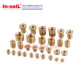 Press-in Thread Brass Insert Nut