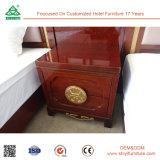LuxuxBrwon Buchenholz Nightstand für Schlafzimmer