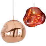 아크릴 철 새로운 디자인 펀던트 램프 돌 유형 점화