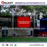 P2.98/P3.91/P4.81/P5.95 l'étalage d'écran d'intérieur extérieur de la location DEL avec l'aluminium de moulage mécanique sous pression