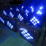 éclairage à piles d'étape DEL de la PARITÉ sans fil DEL de 9X12W