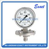 Todo o instrumento Manómetro-Elevado do medidor da qualidade do Calibrar-Diafragma da pressão dos Ss