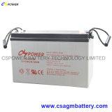 Bateria de gel Vlcl 12V150ah Vlcp para armazenamento de energia solar Cspower 12V150ah