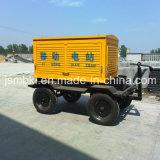 200 de Diesel van kW Stille Geluiddichte Reeks van de Generator met Draagbare Mobiele Aanhangwagen (facultatieve merken voor motor)