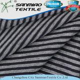 Alta qualità singola Jersey tinta filato che lavora a maglia il tessuto lavorato a maglia del denim per le magliette