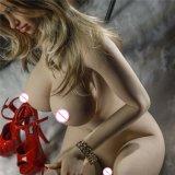 Bambola occidentale del fronte dell'alta di simulazione del sesso della bambola del sesso bambola di amore