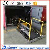 Levage de fauteuil roulant de Xinder Wl-Uvl-1600II-H pour l'entraîneur dans le bagage