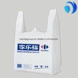 Оптовый изготовленный на заказ пластичный мешок тенниски покупкы HDPE/LDPE