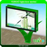 Quadro de avisos de anúncio exterior do lado do dobro do preço do competidor de Yeroo