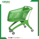 Virgin PP Tout le magasin de supermarché en plastique Chariot à carreaux